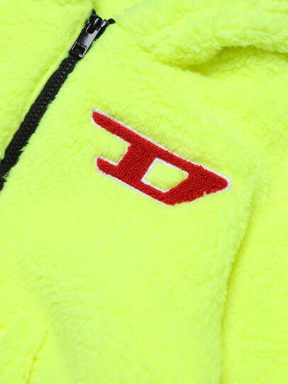 Diesel - SODDY OVER, Giallo Fluo - Felpe - Image 3