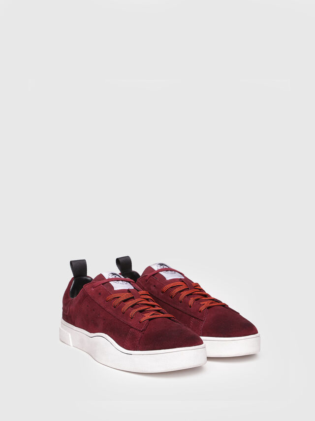 Diesel - S-CLEVER LOW, Rosso Vino - Sneakers - Image 2