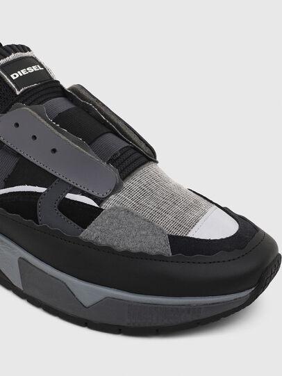 Diesel - S-BRENTHA DEC, Nero/Grigio - Sneakers - Image 4