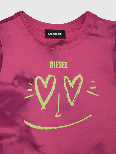 Diesel - TINTDB-R, Rosa - T-shirts e Tops - Image 3
