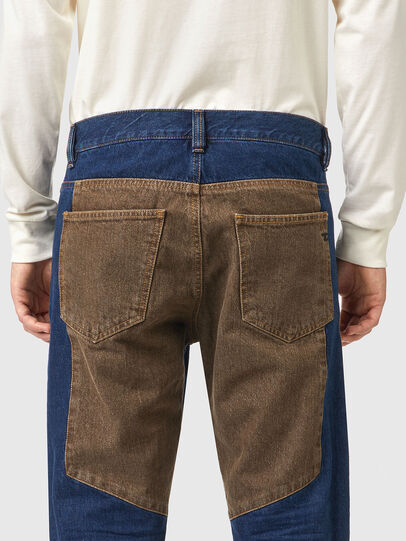 Diesel - D-Viker 0AFAK, Blu Scuro - Jeans - Image 5