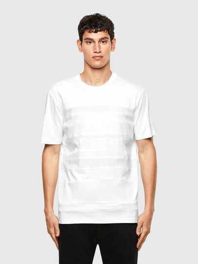 Diesel - T-LOUD, Bianco - T-Shirts - Image 1