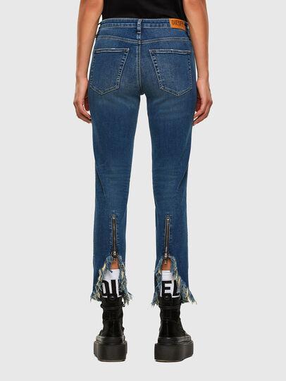 Diesel - Babhila-Zip 009EZ, Blu medio - Jeans - Image 2
