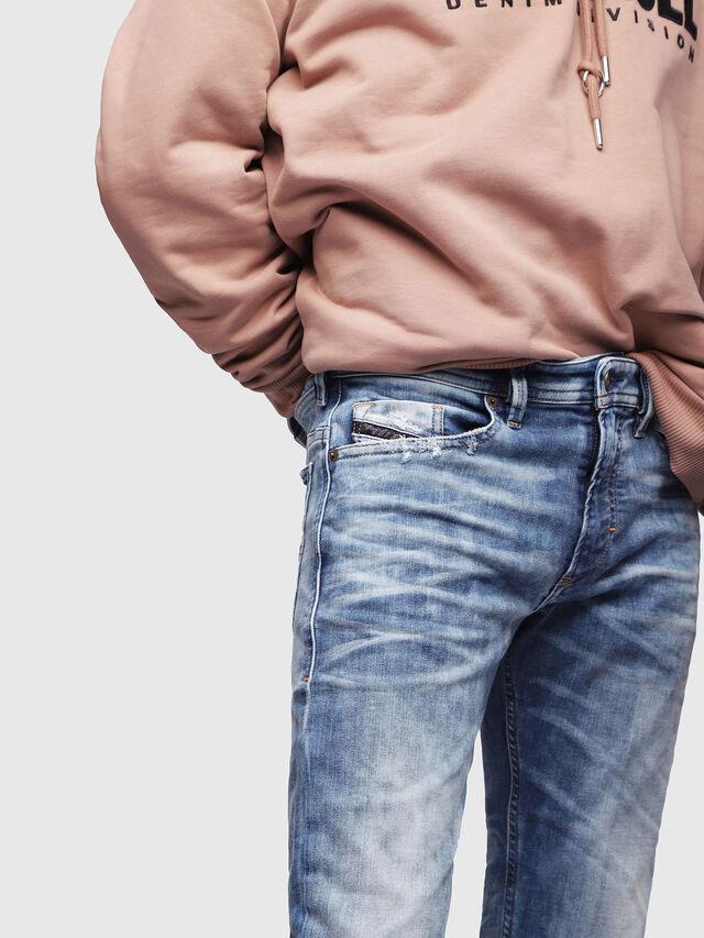 Diesel - Thommer JoggJeans 087AC, Blu medio - Jeans - Image 3