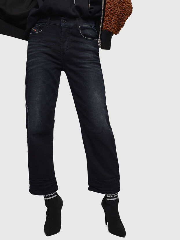 Aryel 0679R, Nero/Grigio scuro - Jeans