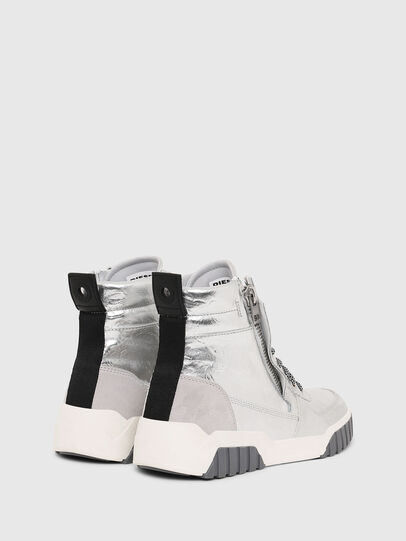 Diesel - S-RUA MID W, Argento - Sneakers - Image 3