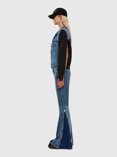 Diesel - D-Ferenz 009JD, Blu Chiaro - Jeans - Image 4
