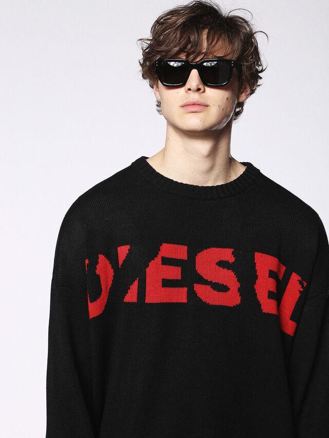 Diesel - DL0253, Nero/Rosso - Occhiali da sole - Image 5