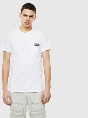 T-WORKY-SLITS, Bianco - T-Shirts