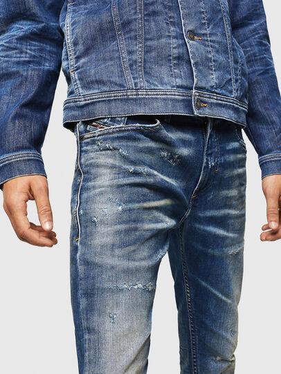 Diesel - Thommer JoggJeans 0870Q, Blu medio - Jeans - Image 3