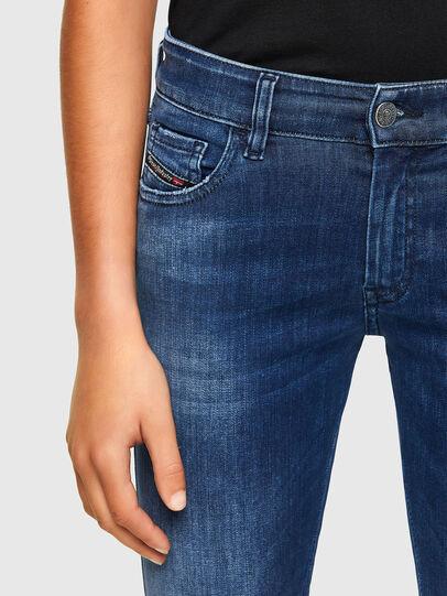 Diesel - Slandy Low 009FE, Blu Scuro - Jeans - Image 3