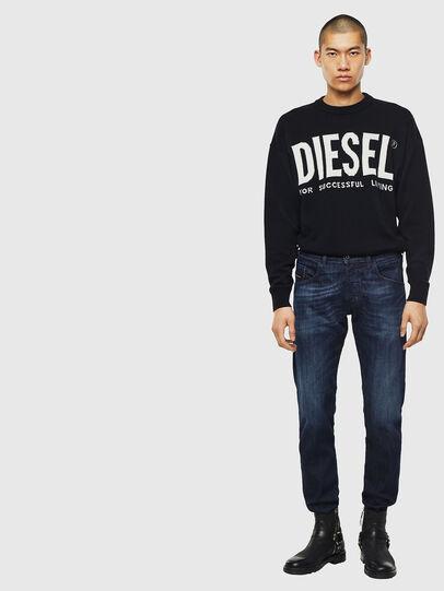 Diesel - D-Bazer 0095W, Blu Scuro - Jeans - Image 5