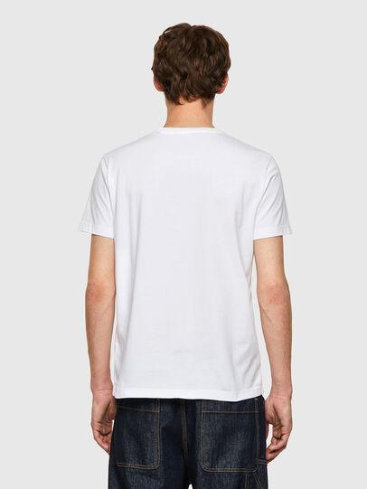 Diesel - T-DIEGOS-B9, Bianco - T-Shirts - Image 2