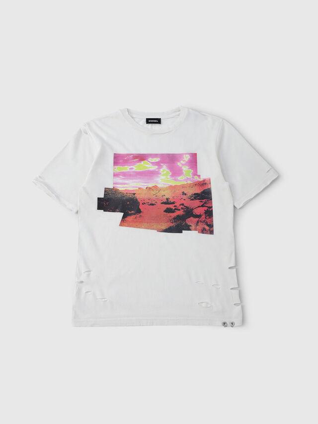 Diesel - TCYNTH, Bianco - T-shirts e Tops - Image 1