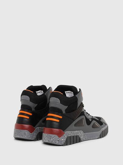 Diesel - S-RUA SP, Grigio scuro - Sneakers - Image 3