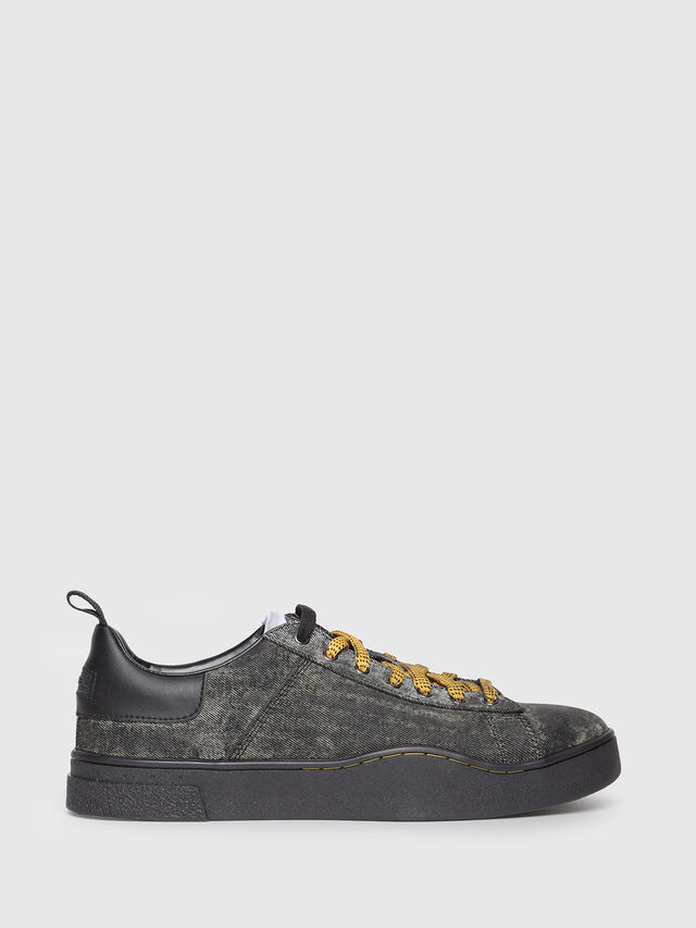 Diesel - S-CLEVER LOW, Antracite - Sneakers - Image 1