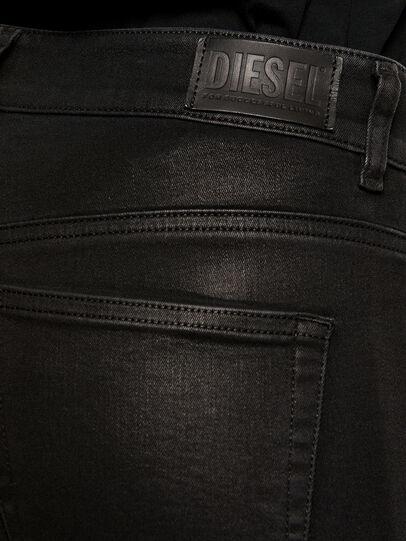 Diesel - Slandy 069JT, Nero/Grigio scuro - Jeans - Image 5