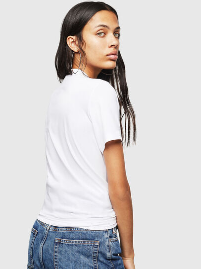 Diesel - T-SILY-WN, Bianco/Rosa - T-Shirts - Image 2