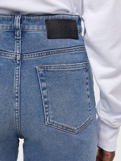 Diesel - D-Eiselle JoggJeans 009KP, Blu Chiaro - Jeans - Image 5