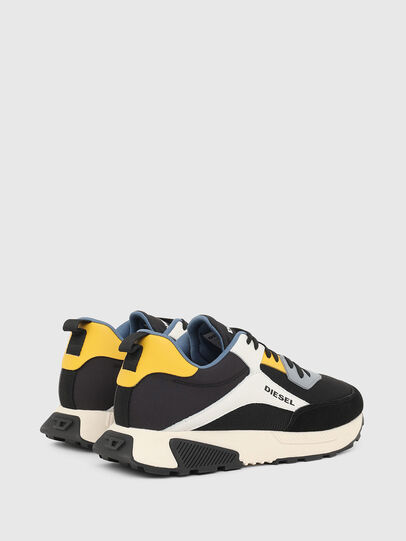 Diesel - S-TYCHE LOW CUT, Nero/Bianco - Sneakers - Image 3