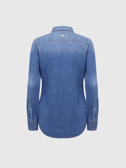 Diesel - DE-RINGY, Blu Chiaro - Camicie in Denim - Image 2