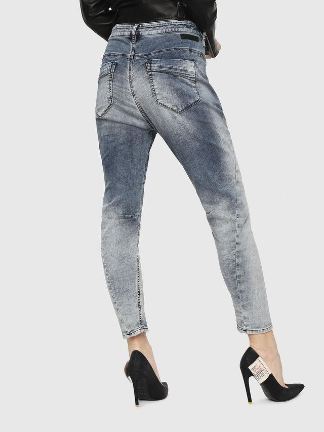 Diesel - Fayza JoggJeans 069FC, Blu Chiaro - Jeans - Image 2