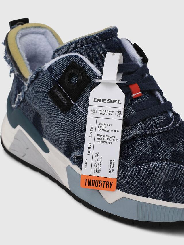 Diesel - S-BRENTHA LC, Blu Jeans - Sneakers - Image 4