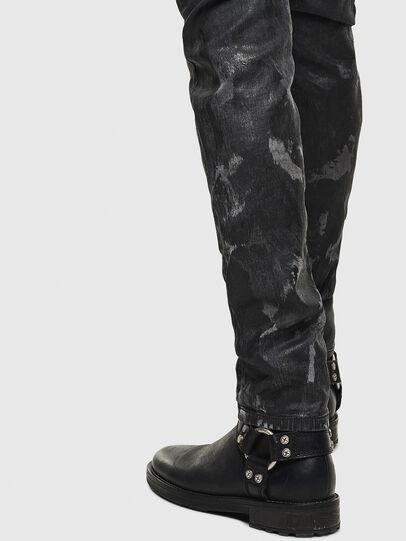 Diesel - Thommer JoggJeans 084AI, Nero/Grigio scuro - Jeans - Image 5