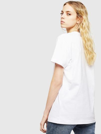Diesel - T-DIEGO-DIV, Bianco - T-Shirts - Image 4