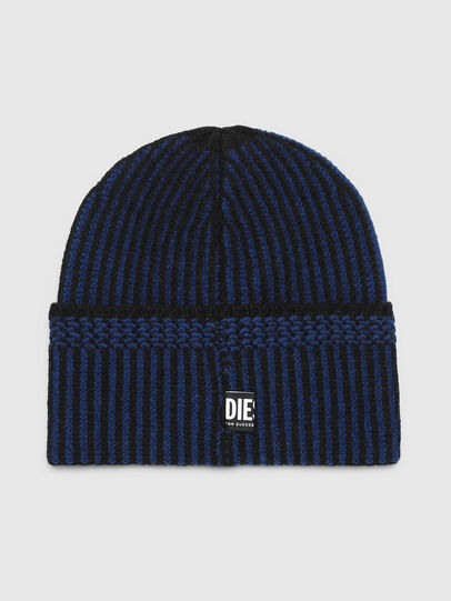 Diesel - K-MANNYS, Nero/Blu - Cappelli invernali - Image 2