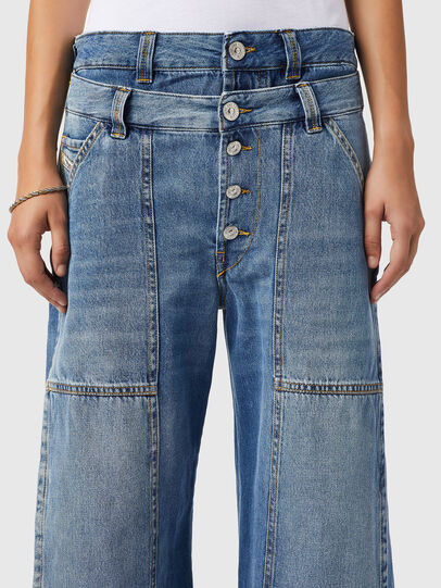 Diesel - D-Laly 0AFAM, Blu medio - Jeans - Image 3