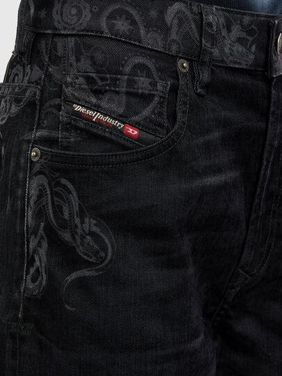 Diesel - D-Reggy 009LC, Nero/Grigio scuro - Jeans - Image 6