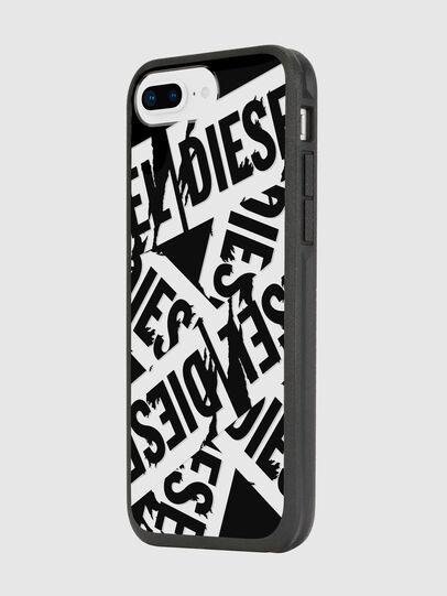 Diesel - MULTI TAPE BLACK/WHITE IPHONE 8 PLUS/7 PLUS/6S PLUS/6 PLUS CASE, Nero - Cover - Image 5