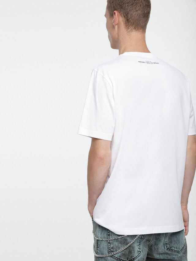 Diesel - T-JUST-XV, Bianco - T-Shirts - Image 2