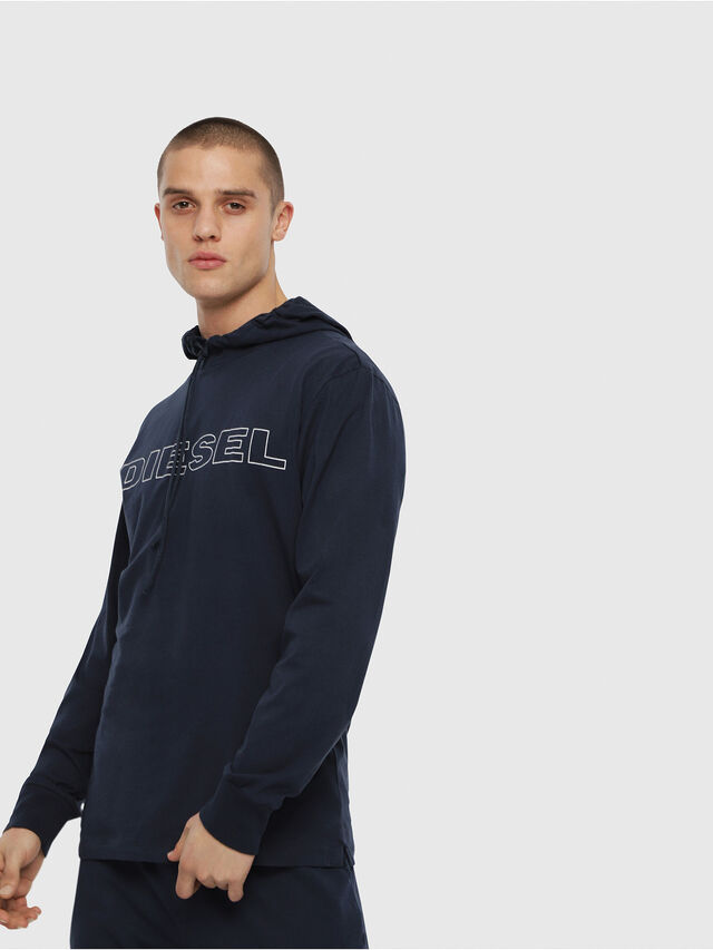 Diesel - UMLT-JIMMY, Blu Notte - T-Shirts - Image 1