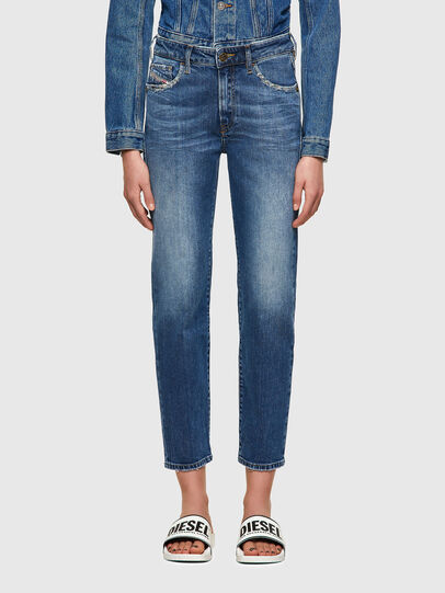 Diesel - D-Joy 009TZ, Blu medio - Jeans - Image 1