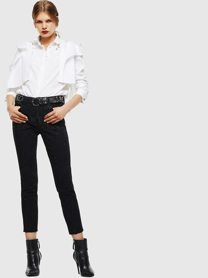 Diesel - C-RAILY-SHAPED, Bianco - Camicie - Image 7