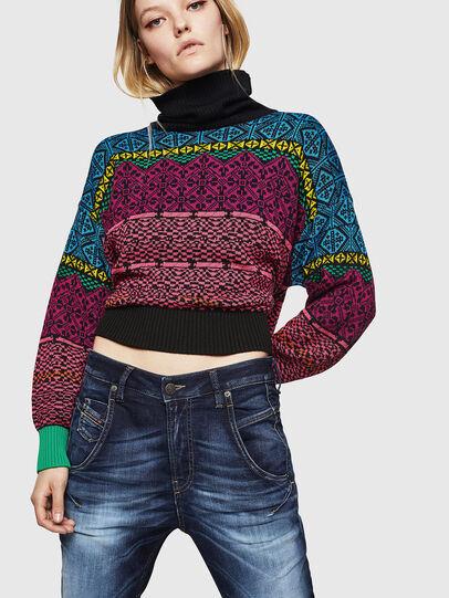 Diesel - Fayza JoggJeans 069IE, Blu Scuro - Jeans - Image 3