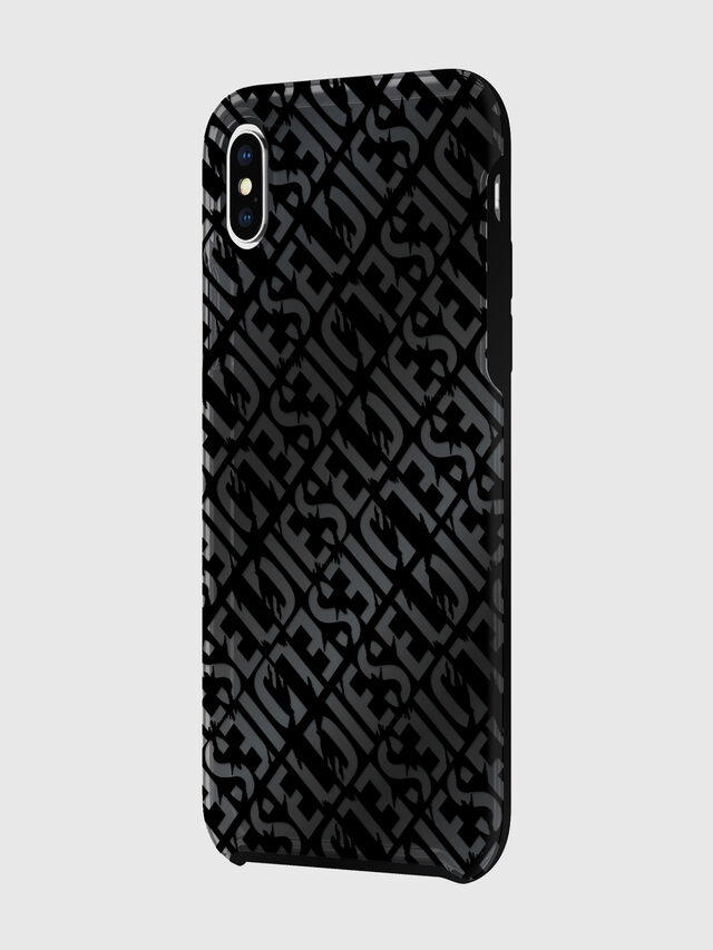 Diesel - DIESEL PRINTED CO-MOLD CASE FOR IPHONE XS MAX, Nero - Cover - Image 5