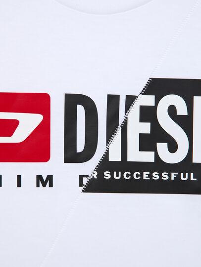 Diesel - TDIEGOCUTY ML, Bianco - T-shirts e Tops - Image 4