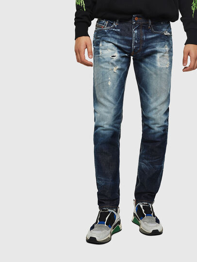 Diesel - Thommer 0092I, Blu Scuro - Jeans - Image 1