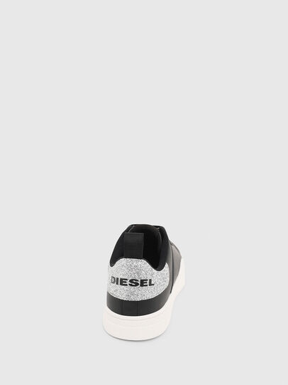 Diesel - S-CLEVER LOW LACE W, Nero/Argento - Sneakers - Image 5