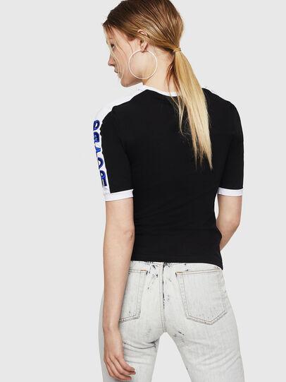 Diesel - T-HEIA-A, Nero - T-Shirts - Image 2