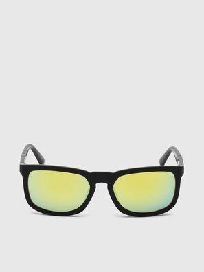 DL0262, Nero/Verde - Occhiali da sole