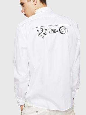 S-VEN-PRINT, Bianco - Camicie