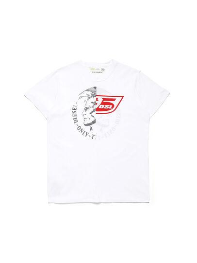 Diesel - D-MESO&MESO, Bianco - T-Shirts - Image 1