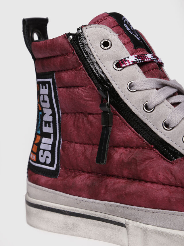 Diesel - D-VELOWS MID PATCH, Borgogna - Sneakers - Image 4