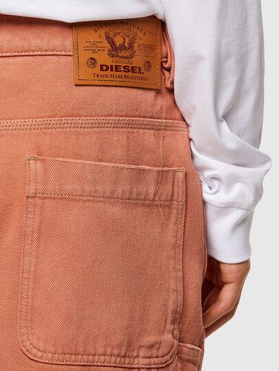 Diesel - D-FRANKY-SHORT-SP, Arancione - Shorts - Image 4