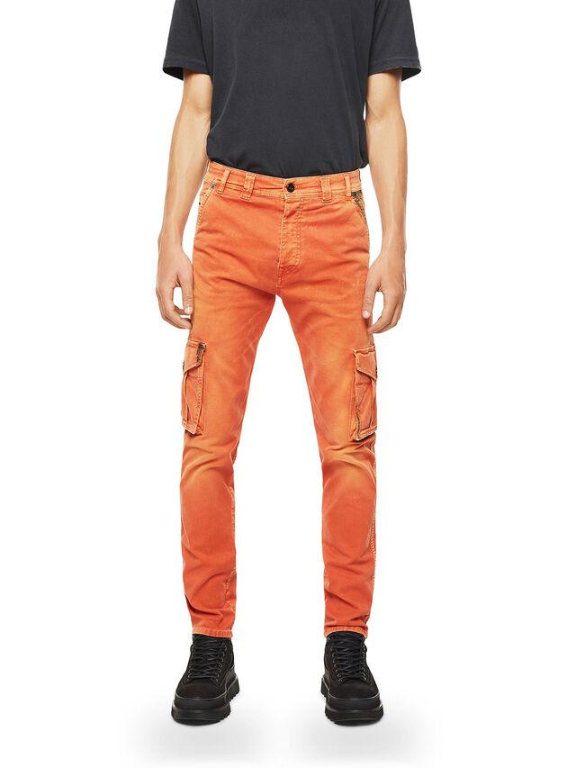 Diesel - TYPE-2910, Arancione - Jeans - Image 1