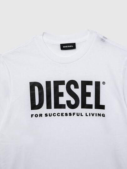 Diesel - TJUSTLOGO ML, Bianco - T-shirts e Tops - Image 3